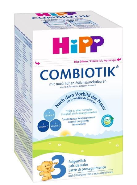 Hipp Bio Combiotik 3 Folgemilch ab 10. Monat