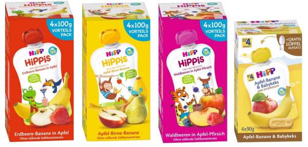 Hipp Früchte Quetschbeutel Mix