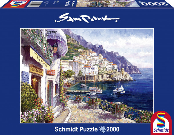 "Rompecabezas Schmidt Premium ""Amalfi in the afternoon"", 2000 piezas"