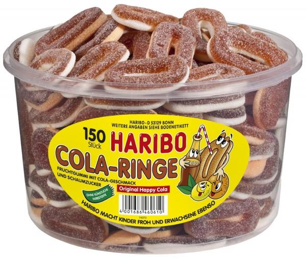Haribo; Cola-Ringe; Dose; 150St.