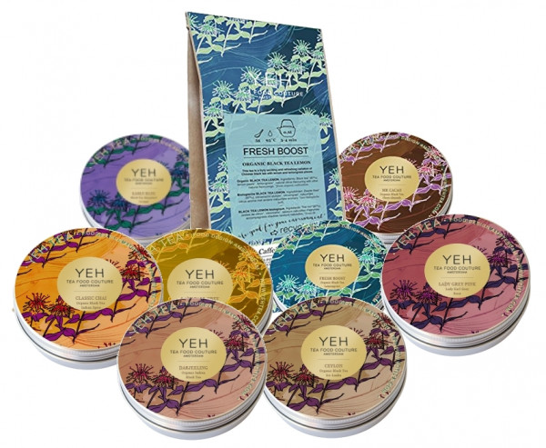 Black Tea Special by Yeah Tea 345g, with 8 different blends