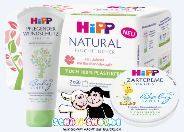 Hipp婴儿护理套装3件
