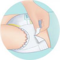 Fácil eliminación de los pañales Pampers Pants