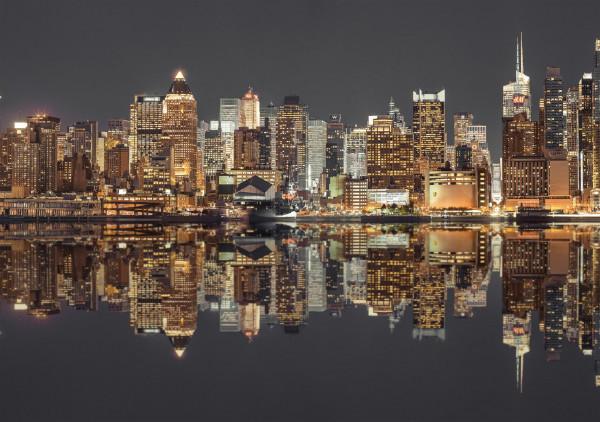 "Rompecabezas Schmidt Premium ""New York Skyline at night"", 1500 piezas"