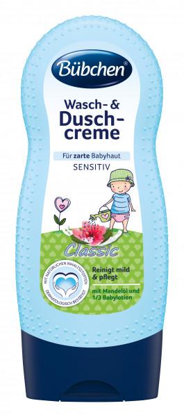 Crema de ducha y lavado Bübchen classic 230ml