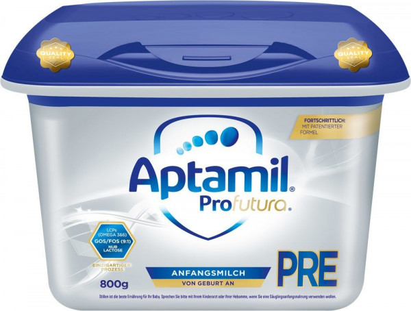 Aptamil Profutura Pre from birth in the Safebox, 800g