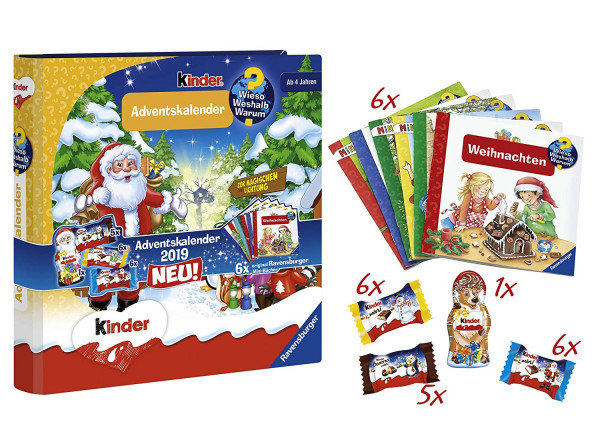 Ravensburger children's chocolate