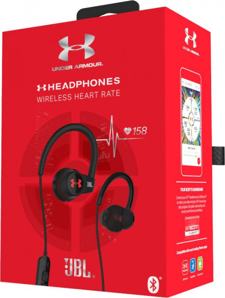 UNDER ARMOUR by JBL wireless in-ear headphones for athletes with heart rate monitoring