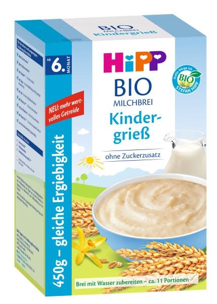 Hipp有机牛奶布丁儿童餐(6个月起)450g