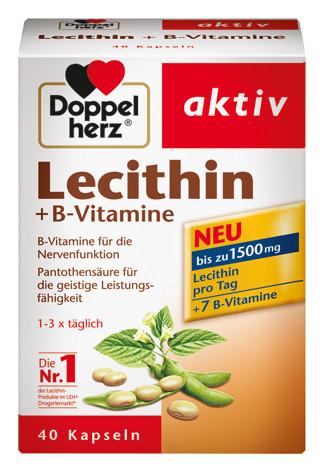 Doppelherz; Lecithin; Vitamin B; Kapseln; Nahrungsergänzung