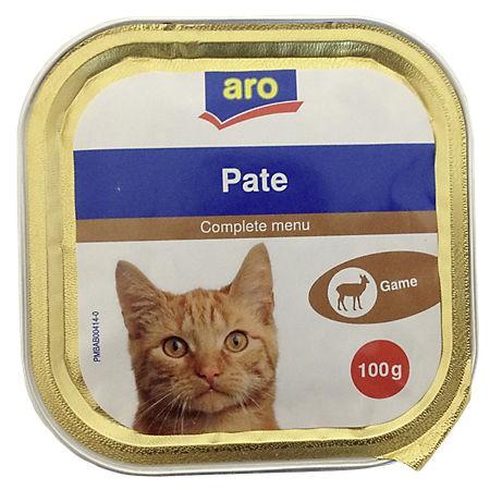 ARO Katzenmenü Wild, 100g Packung