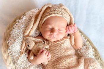 Baby schläft ruhig