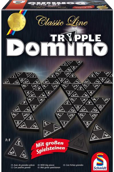 Schmidt Spiele Classic Line Tripple-Domino
