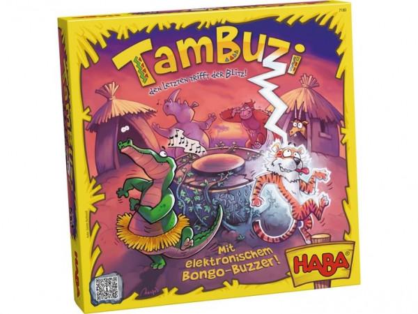 德国HABA Tambuzi - 闪电快速反应游戏 6岁以上儿童成人游戏