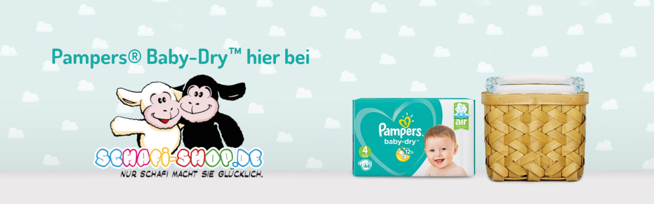 Pampers Baby Dry Sheep Shop