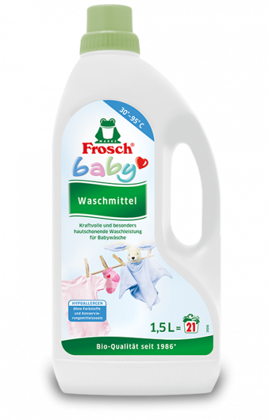 Frog Baby liquid detergent 1,5 L (21 wash loads)