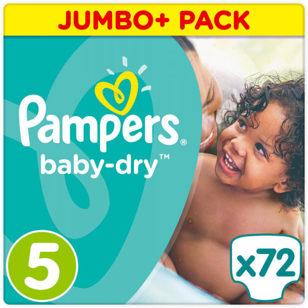 Pampers BabyDry Größe 5 (Junior)