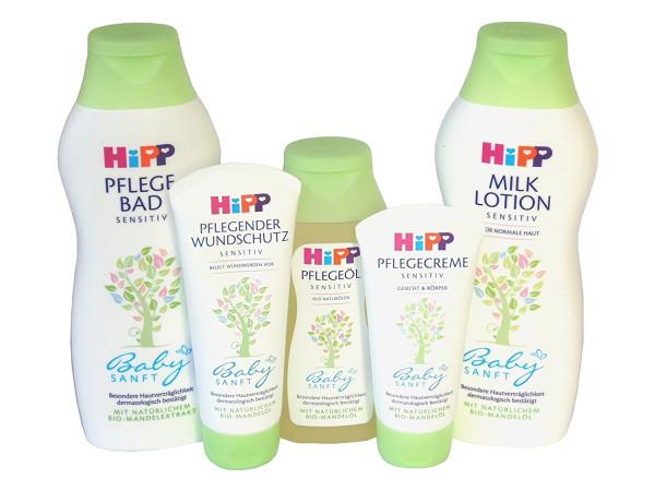 Set para el cuidado del bebé Hipp 5 partes