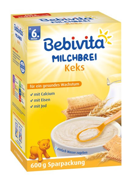 Bebivita Milchbrei Keks ab 6. Monat, 600g