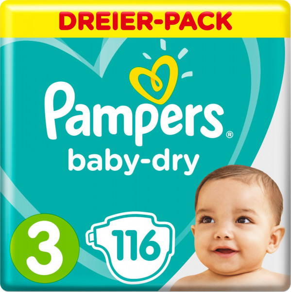 Pampers BabyDry size 3 (Midi) 6-10kg