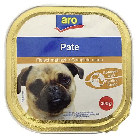 ARO Hundemenü Wild/Geflügel, 300g Pack