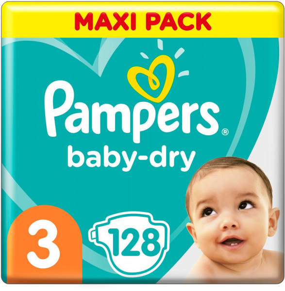 Pampers BabyDry size 3 (Midi)