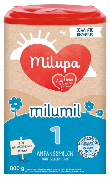 德国Milupa美乐宝Milumil 1段初生奶粉,800克