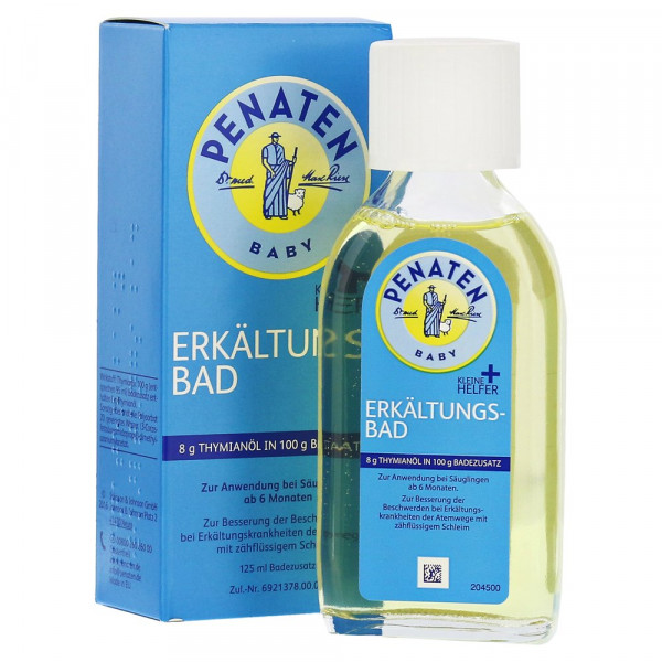 Penaten Small helpers cold bath with thyme oil, bath additive, 125ml