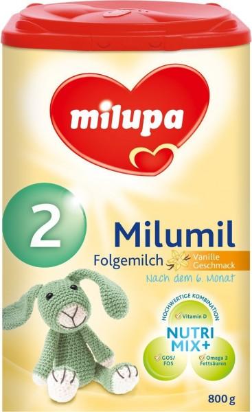 Milupa Milumil 2 Folgemilch mit Vanillegeschmack