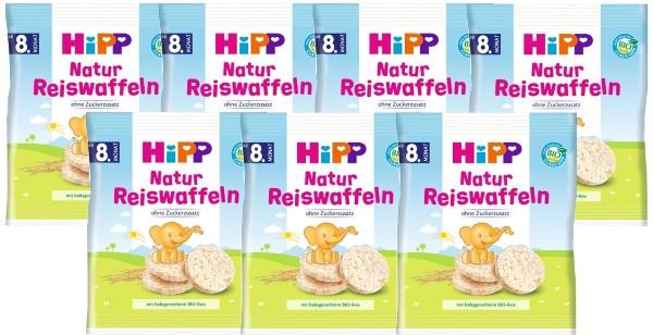 Hipp Natur Reiswaffeln 35g, 7er-Pack (7x35g)