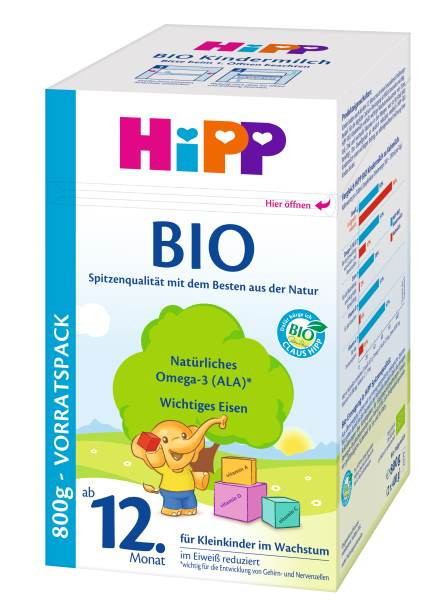 Hipp Bio Kindermilch ab 12. Monat