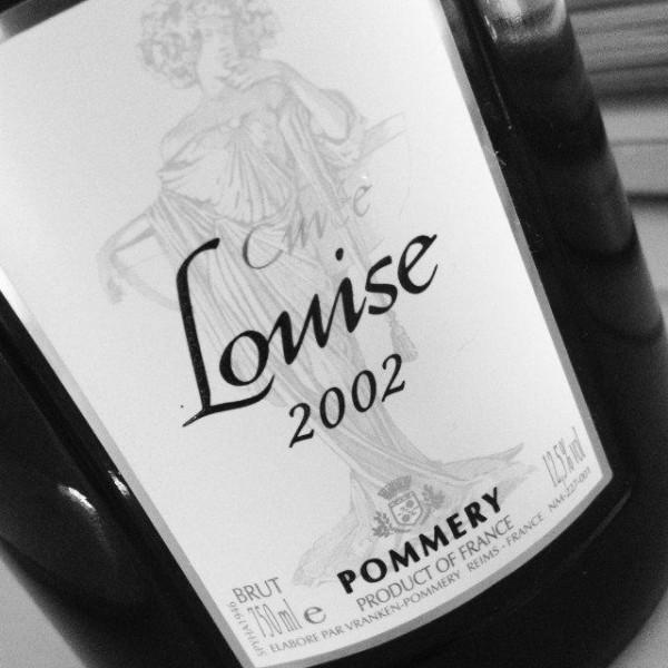 Pommery Cuvée Louise Vintage 2002 Brut Label