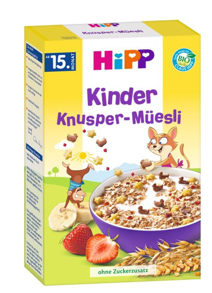 Hipp kids crunchy muesli from the 15th month, 200g