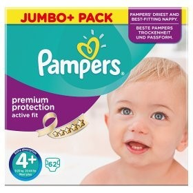 Pampers ActiveFit Größe 4+ (Maxi Plus)