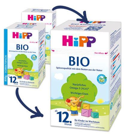 Hipp Bio 12 new recipe