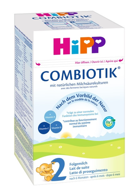 Hipp Bio Combiotik 2 Folgemilch ab 6. Monat, 600g