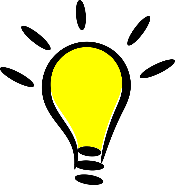 Light bulb, luminous