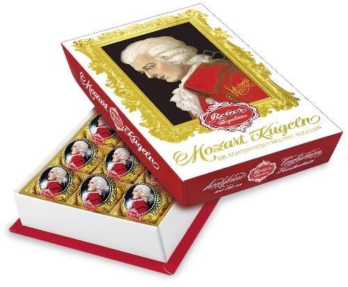 Schokolade; Süßes; Mozartkugeln; Weihnachten