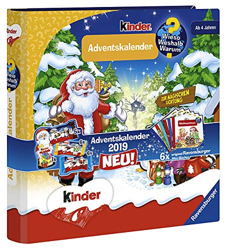 "Ravensburger children's ""WWW"" advent calendar with 6 mini books from 4 years 109g"