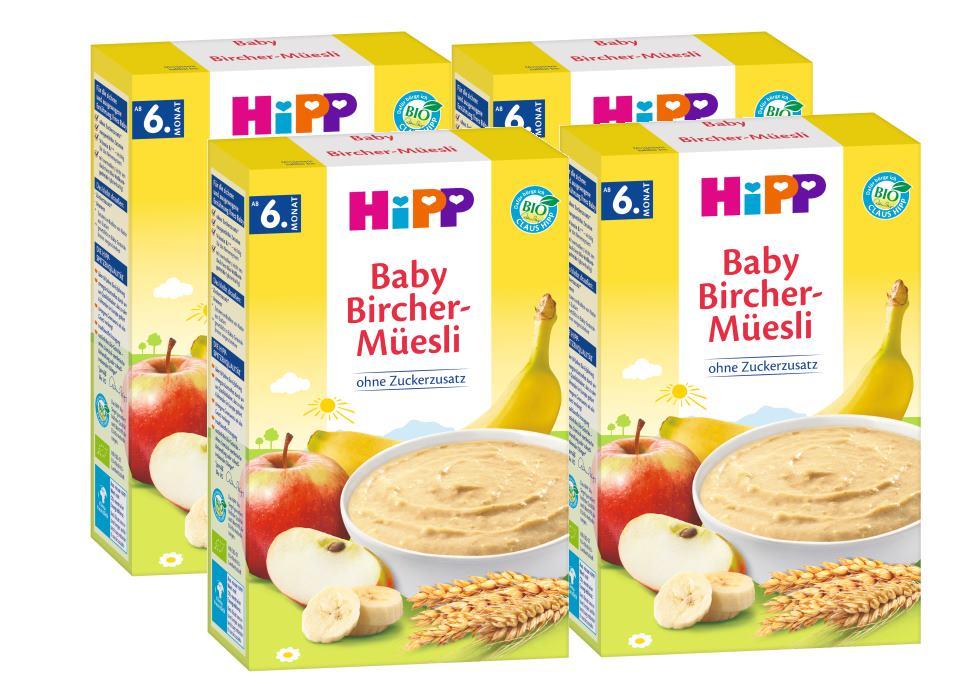 Hipp Bio Getreide Brei Guten Morgen Brei Bircher Müesli Ab Dem 6 Monat 250g