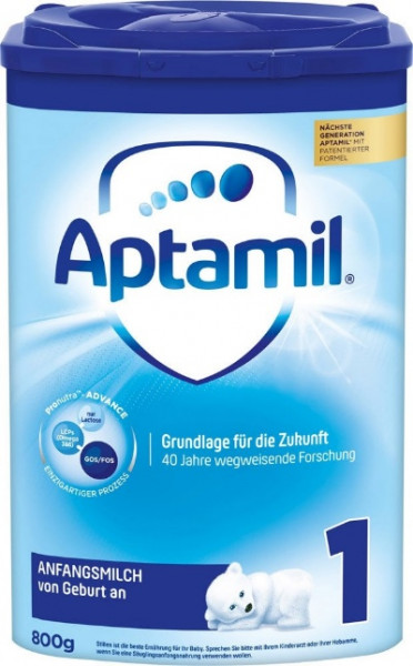 Aptamil Pronutra Advance 1, starting milk in EazyPack, 800g