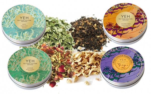 Spice tea special from Yeah Tea 130g, with 4 different blends