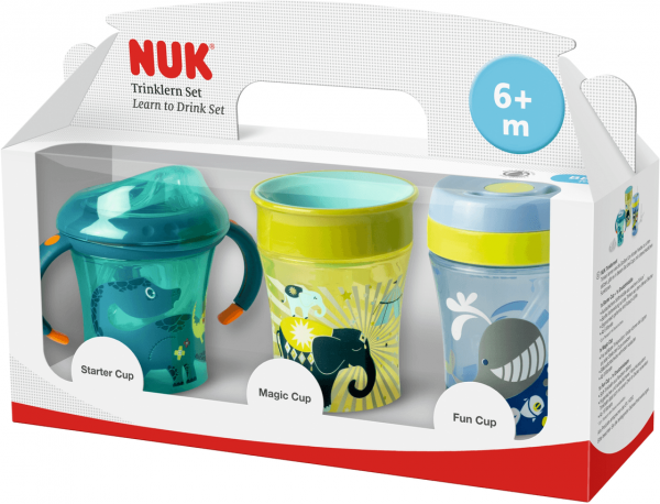 NUK Easy Learning Trinklern-Set in Geschenkbox
