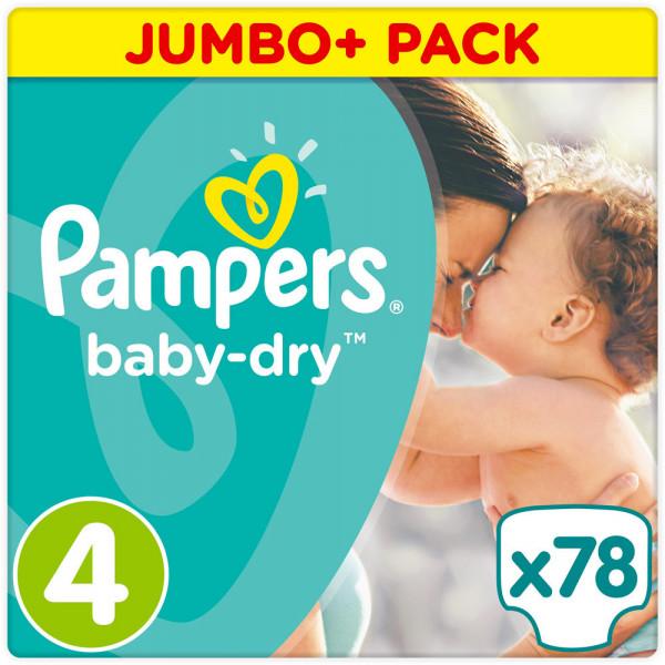 Pampers BabyDry Größe 4 (Maxi)