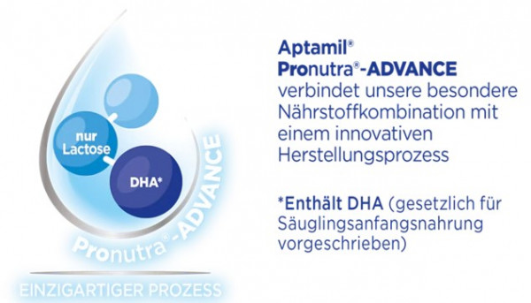 Aptamil Pronutra Advance LCP欧米茄3和6狗乳糖