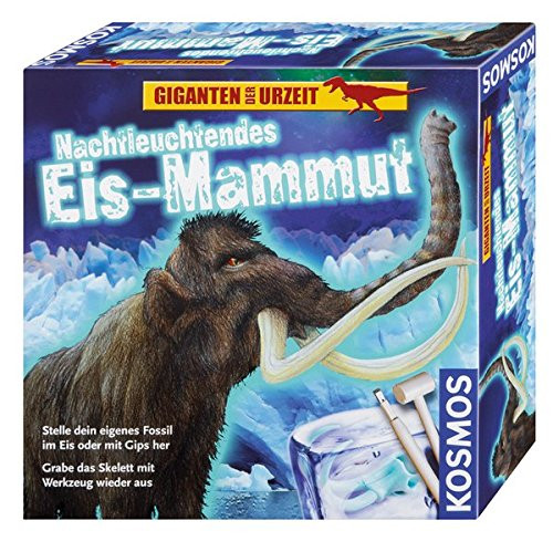 Cosmos Night Glow Ice Mammoth Experimental Box à partir de 7 ans