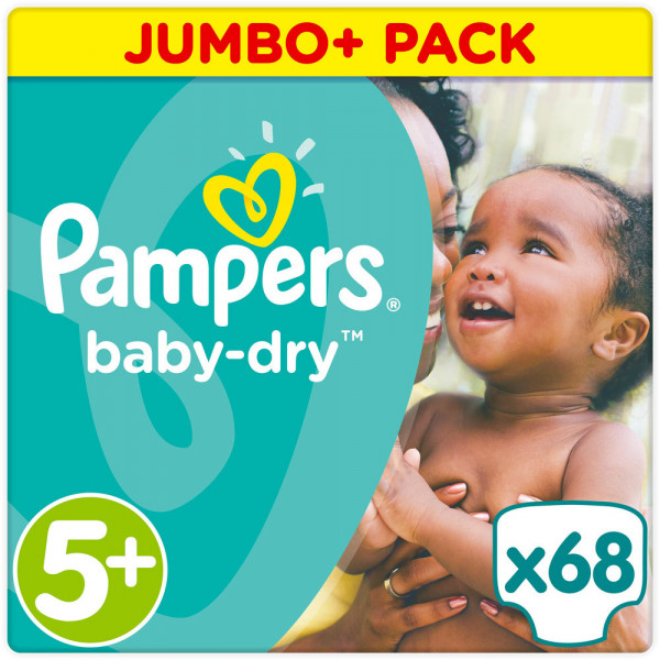 Pampers BabyDry Größe 5+ (Junior+)