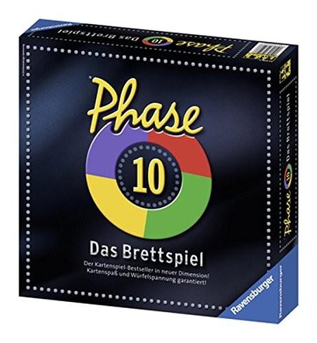 Ravensburger Phase 10 Das Brettspiel