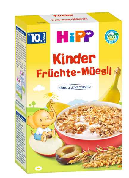 Hipp children fruit muesli from the 10th month, 200g