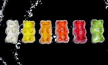 Gummibärchen bunt